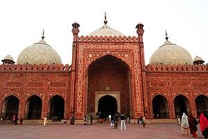 Punjab, Pakistan - Image: Badshahi Mosque, Lahore