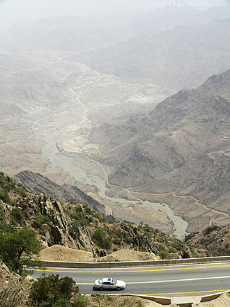 Hijaz Mountains - Image: Baharoad
