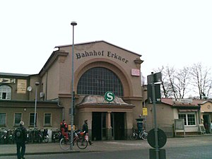 Erkner - Image: Bahnhof erkner