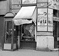 Bajcsy-Zsilinszky út - Révay köz sarok. Bűnügyi helyszínelés fényképe, 1959 Fortepan 104156.jpg