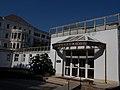 Balatonfüred Heart Hospital. Spa entrance. - Hungary.JPG