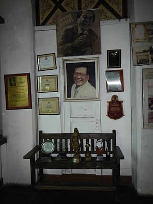 Bert Marcelo - Memorabilia of Bert Marcelo (Baliuag, Bulacan museum).