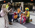 Balloon seller Queen Street Cardiff - geograph.org.uk - 976685.jpg