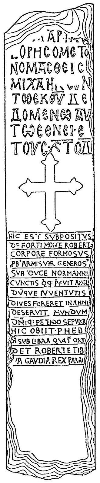 Bulgarians in Albania - Balshi inscription.