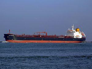 Baltic Merchant IMO 9138202 leaving Port of Rotterdam, Holland.jpg