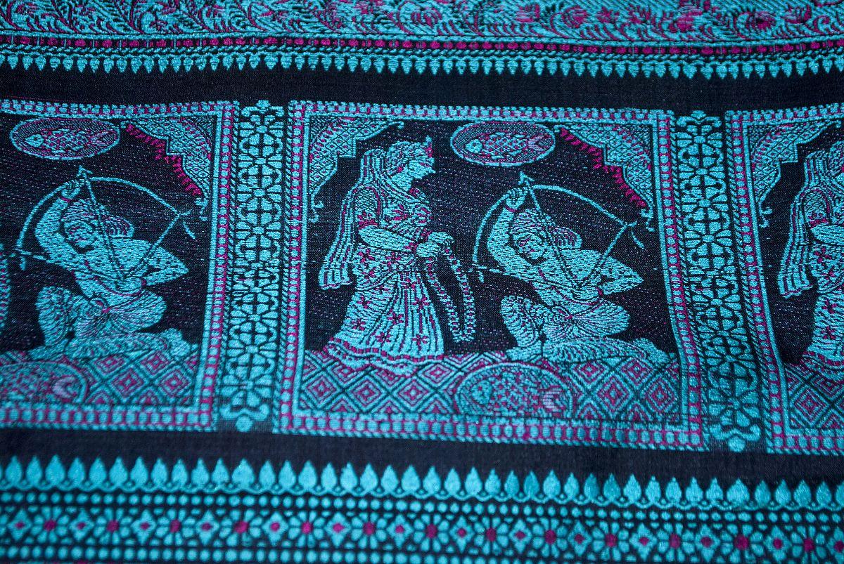 Baluchari Sari - Wikipedia