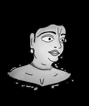 Banamali Dasa - An artistic recreation of Banamali Dasa.