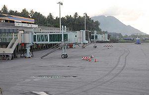Sultan Babullah Airport - Apron view