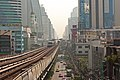 Bangkok, view from Nana station towards Asok (11900227545).jpg