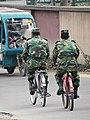 Bangladeshi Soldiers Riding Bicycles - Chittagong Hill Tracts - Bangladesh (13185227925).jpg