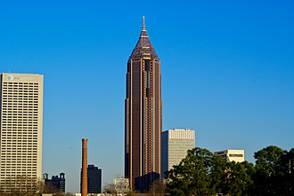 Bank of America Plaza (Atlanta) - Image: Bankofamerica atlanta new
