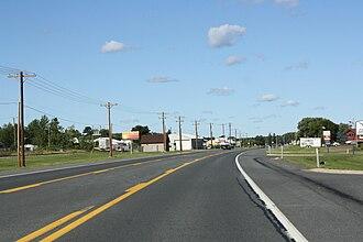 Baraga, Michigan - Downtown Baraga along U.S. Route 41