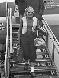 fotografía de Moore en 1961