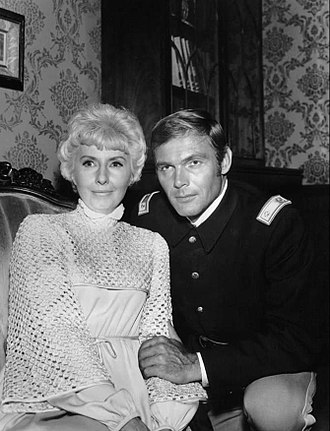 The Big Valley - Episode In Silent Battle, Barbara Stanwyck and Adam West (1968)