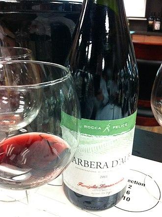 Barbera - A Barbera d'Alba from Piedmont.