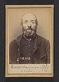 Barbichon. Jacques, Émile. 62 ans, né à Provins. Marchand de mouron. Anarchiste. 9-3-91. MET DP290104.jpg