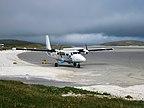Szkocja - Hebrydy Zewnętrzne, Barra, Widok na lot