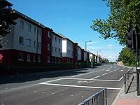 Barrack Road northbound, Newcastle upon Tyne, 5 September 2013.jpg