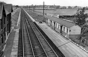 Lancaster and Preston Junction Railway - Image: Barton & Broughton Station 1767293 a 6051bae