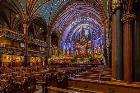 Basílica de Notre-Dame, Montreal, Canadá, 2017-08-12, DD 22-24 HDR