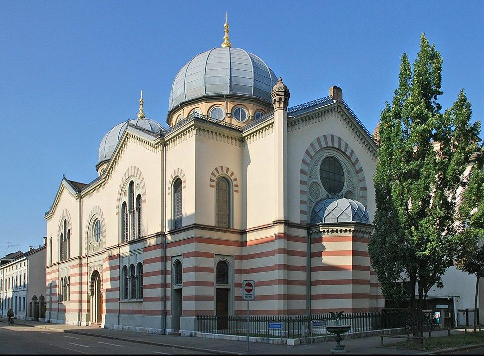 Basler Synagoge(ws) retouched