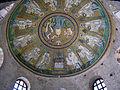 Battistero degli ariani, int, mosaico della cupola 04.JPG