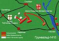 Battle of Grunwald map 4 Belarusian.jpg
