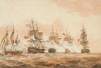 Battle of Lissa (1811) - Image: Battle of Lissa 1811