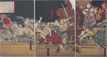 The Last Samurai Battle
