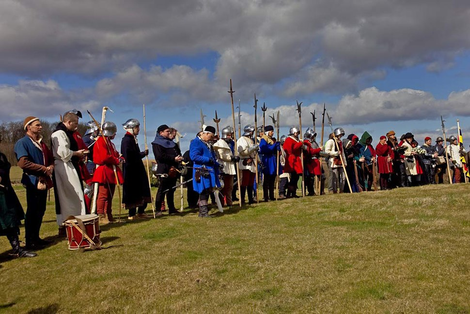 Battle of Towton reenactment 2010