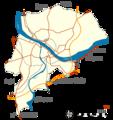 Bayonne communes limitrophes 10092014.png
