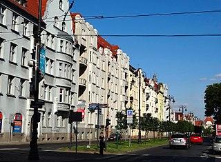 Adam Mickiewicz Alley in Bydgoszcz