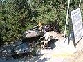 Beşparmak dağlarındaki tank - panoramio.jpg