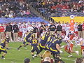 Bears on offense at 2009 Poinsettia Bowl 13.JPG