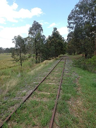 Cedar Grove, Queensland - Disused Beaudesert railway line, 2016