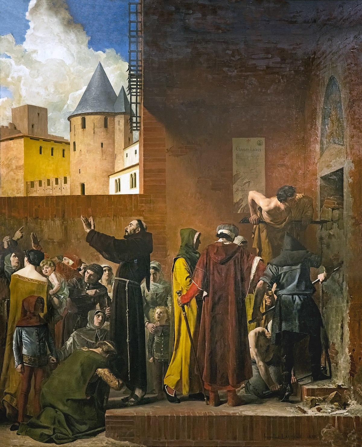 Fichier:Beaux-Arts de Carcassonne - La Délivrance des emmurés de Carcassonne 1879 - Jean Paul Laurens.jpg — Wikipédia