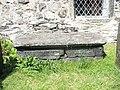Bedd Elizabeth Evans' grave, Llanfihangel-y-pennant - geograph.org.uk - 371383.jpg
