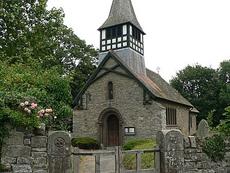 Bedstone - St Mary's Church, the ancient parish church of Bedstone.