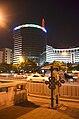 Beijing.Jianguomen dajie de nuit.jpg