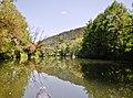 Beim 366 km langen Neckartalradweg, Neckar zwischen Sulz und Horb - panoramio (24).jpg