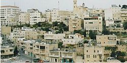 A neighbourhood in Bethlehem