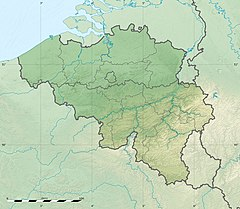 Menen is located in Belgicko