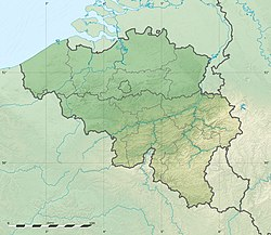 Brussels is located in Belgium