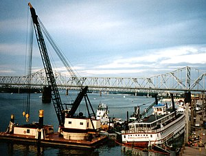 Belle of Louisville - Image: Belle of Louisville salvage