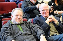Ben Cohen e Jerry Greenfield nel 2010