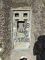 Bench mark on the pillar - geograph.org.uk - 1749978.jpg