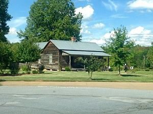 "Benjamin Mays - Mays' birthplace in Ninety Six, now known as the ""Benjamin E. Mays Historical Site."""