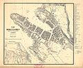 Bergens by nr 20- Kart over Bergen med Omegn, 1864.jpg