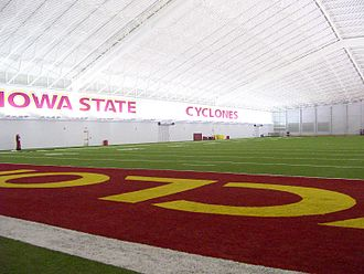 Iowa State Cyclones football - Bergstrom Indoor Practice Facility