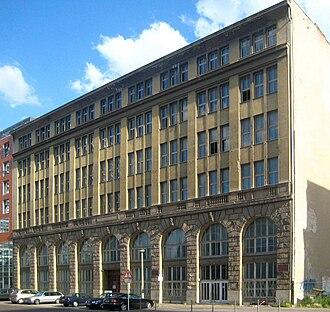 Die Deutsche Wochenschau - Former UFA head office, Berlin-Mitte